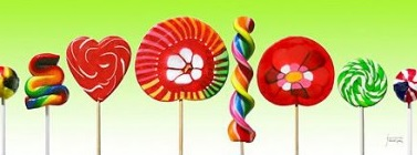 Art lollipops