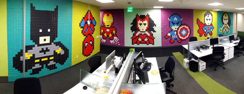 8024-post-its-office-8-bit-superhero-art-designboom-01
