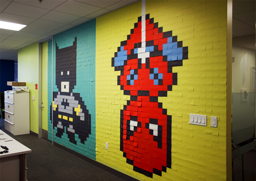 8024-post-its-office-8-bit-superhero-art-designboom-05