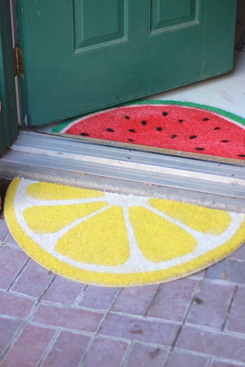fruit-welcome-mats