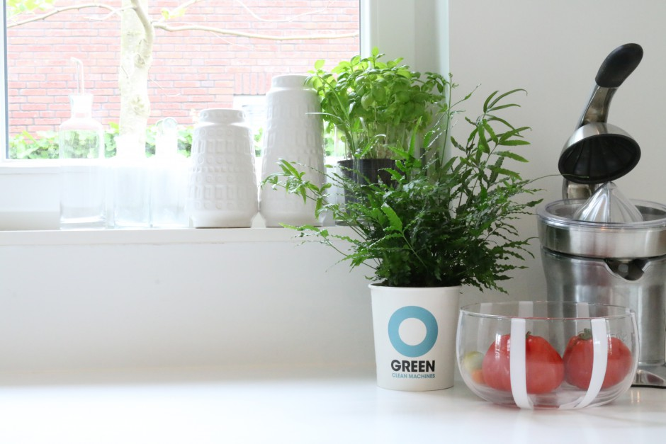 Ogreen Clean Machines werken luchtzuiverend