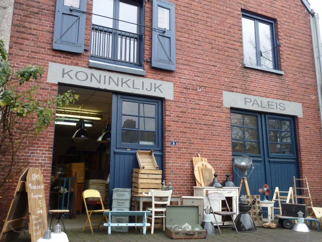 Het pakhuis van Meubelatelier Koningstraat 5