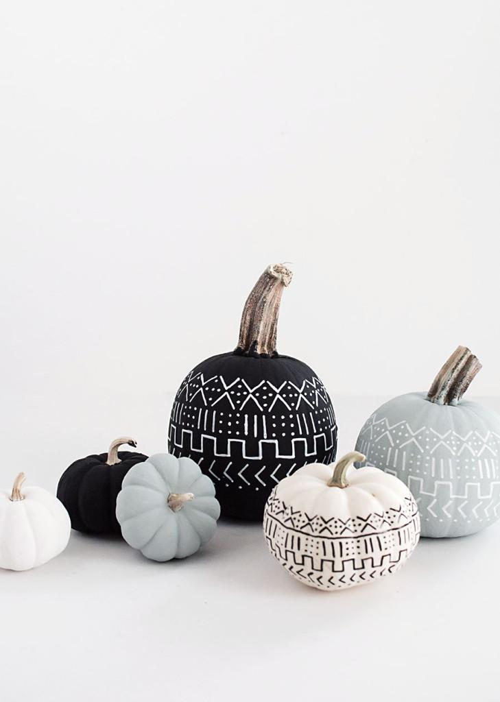 DIY-Mud-Cloth-Pumpkins3