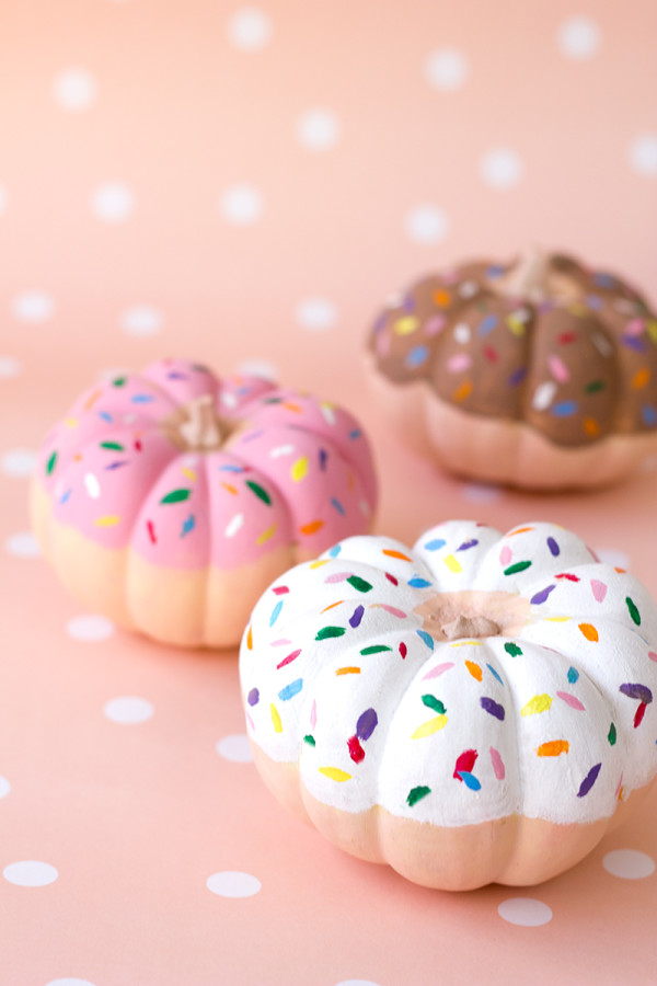 Donut pumkins