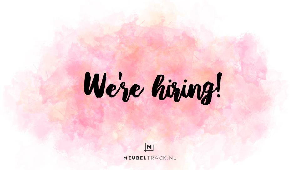 We're hiring Meubeltrack