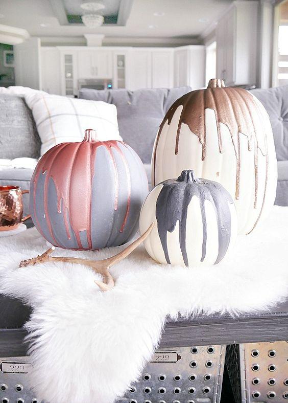 pumpkin metallic