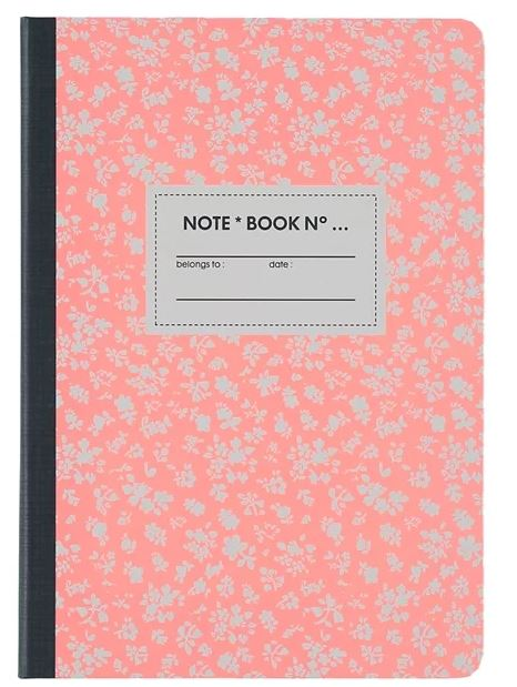 Notebook roze