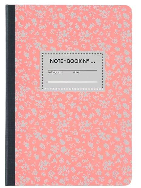 Notebook roze