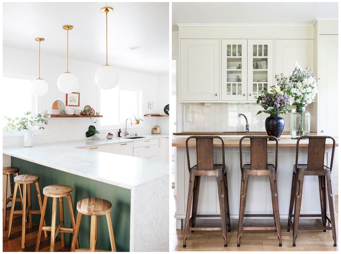 Gezelligheid in de keuken met barkrukken meubeltrack inspiratie