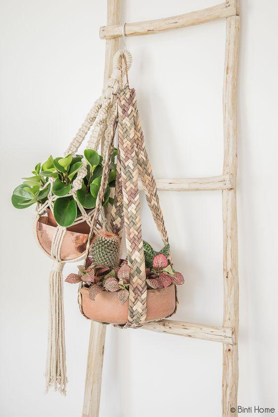 Creatief met houten ladders: 12x inspiratie - Meubeltrack Inspiratie