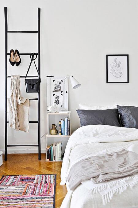 Creatief met houten ladders 12x inspiratie meubeltrack blog - Deco kamer ...