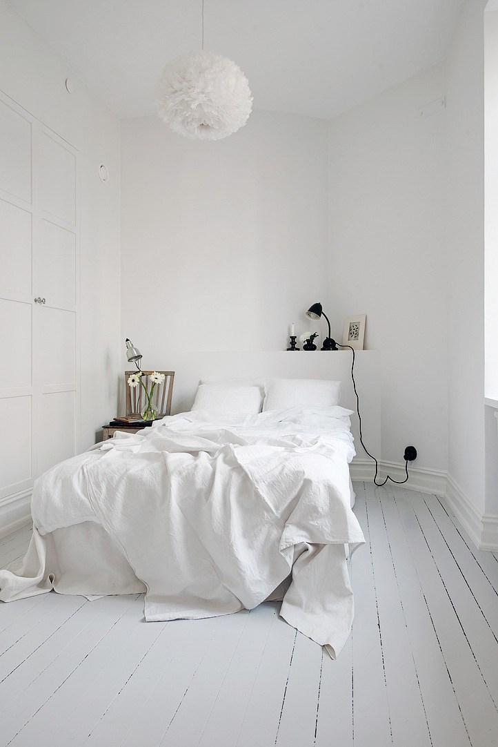 Het grootse effect van een witte slaapkamer - Meubeltrack Inspiratie