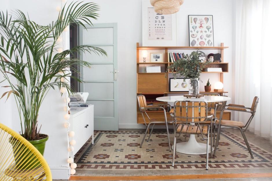 Binnenkijken in een vintage eclectisch huis for Eclectische stijl interieur