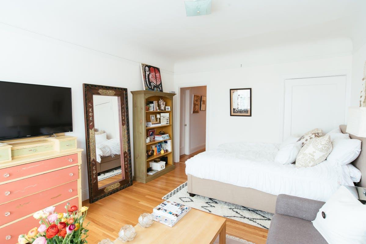 Stijlvol wonen in een studio van 45m2 meubeltrack blog - Ontwikkel een studio van m ...