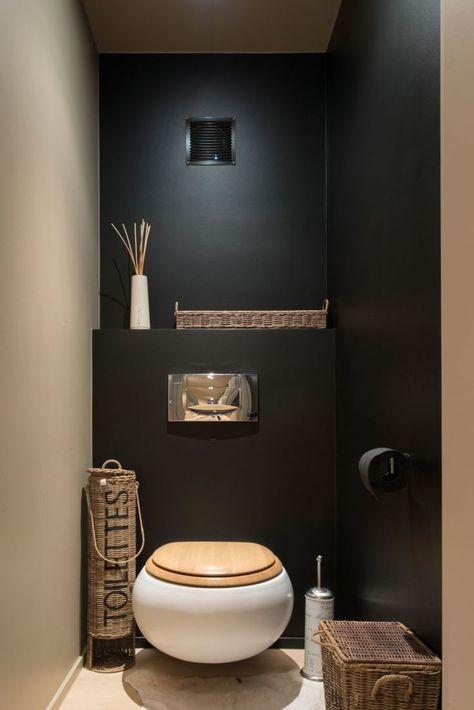 Het kleinste kamertje de allermooiste toiletten meubeltrack blog - Deco toilet grijs ...