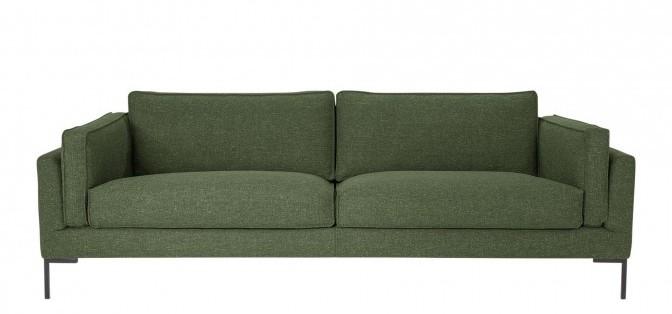 2 - vtwonen - iSofa flow bank 3-zits gemeleerd groen
