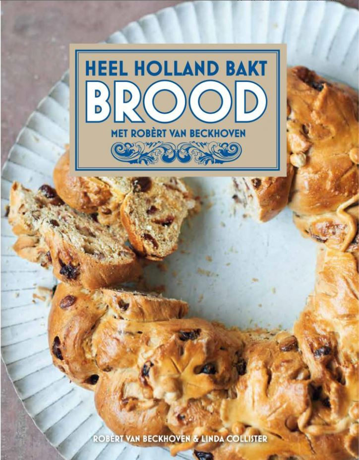 Heel Holland bakt brood boek