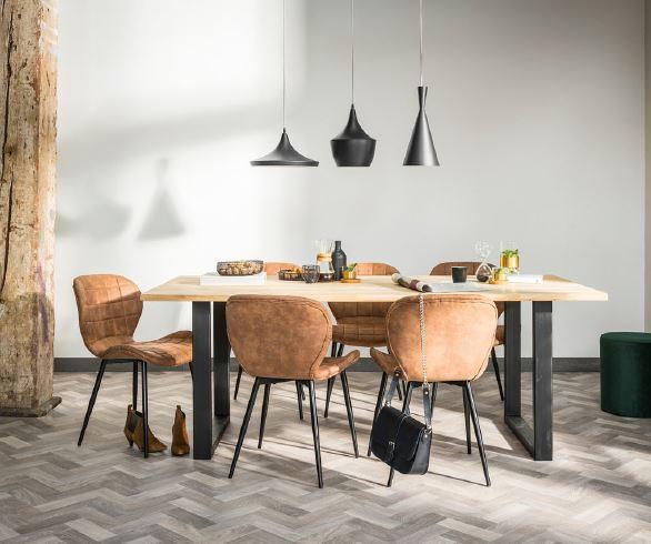 keukentafel en stoelen 3