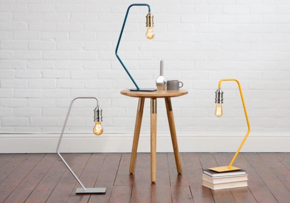 Starkey tafellamp in drie kleuren