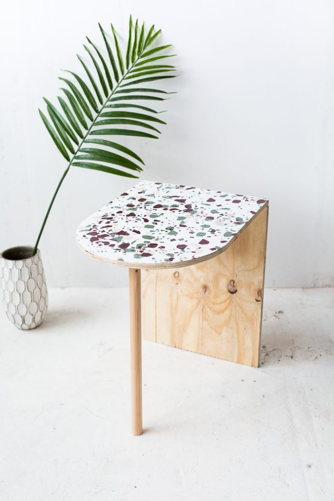 How-to-Create-a-Terrazzo-Print-on-Almost-Anything-PLUS-DIY-Terrazzo-Concrete-Book-Ends-14-683x1024