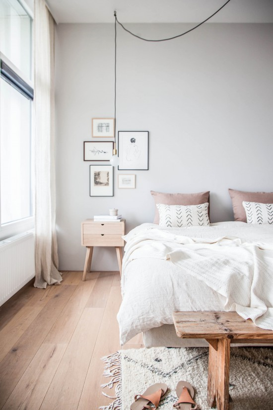 Binnenkijken bij een lichte slaapkamer - Meubeltrack Inspiratie
