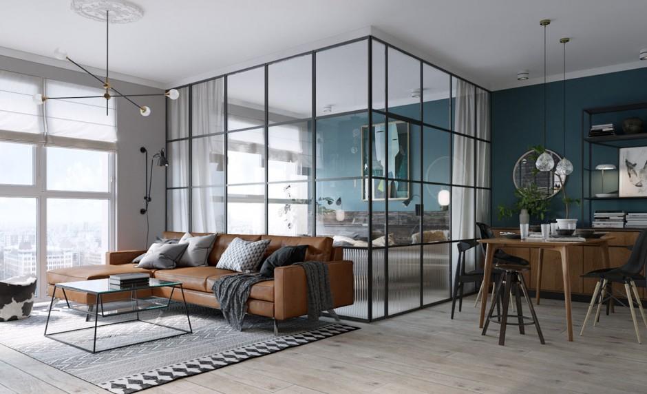 Wonderlijk Binnenkijken bij een klein maar fijn appartement - Meubeltrack DQ-95