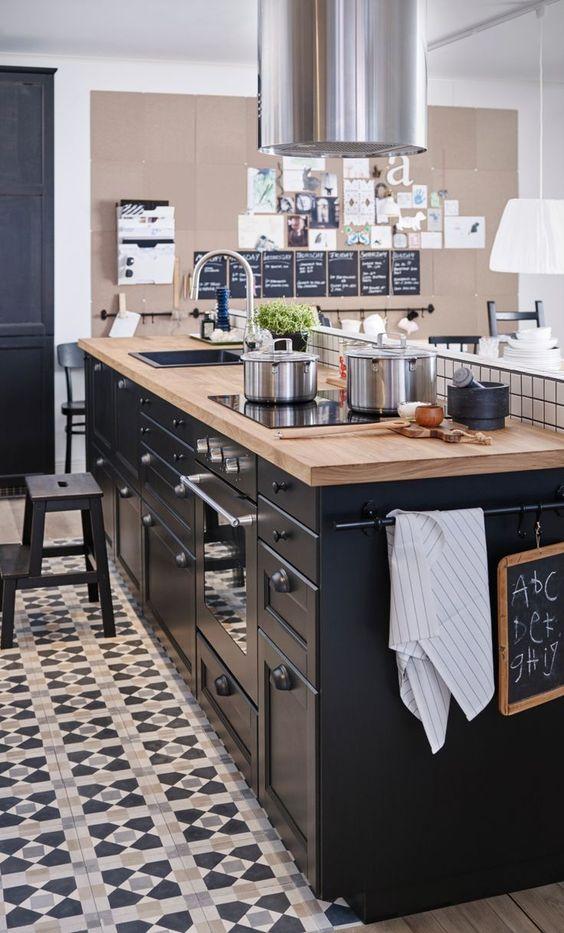 IKEA_zwarte_keuken