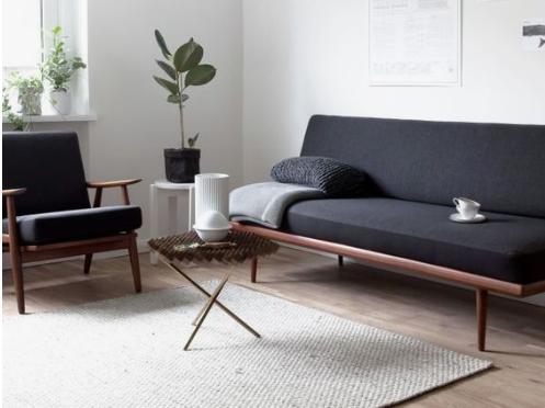 Een interieur zonder poespas meubeltrack inspiratie