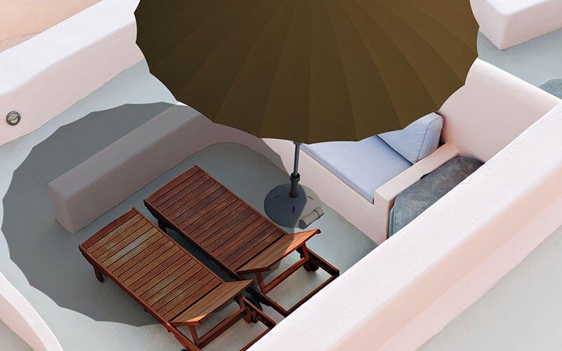 Solero® Vaticano Pro kantelbare parasol – Ø2.5 meter 2