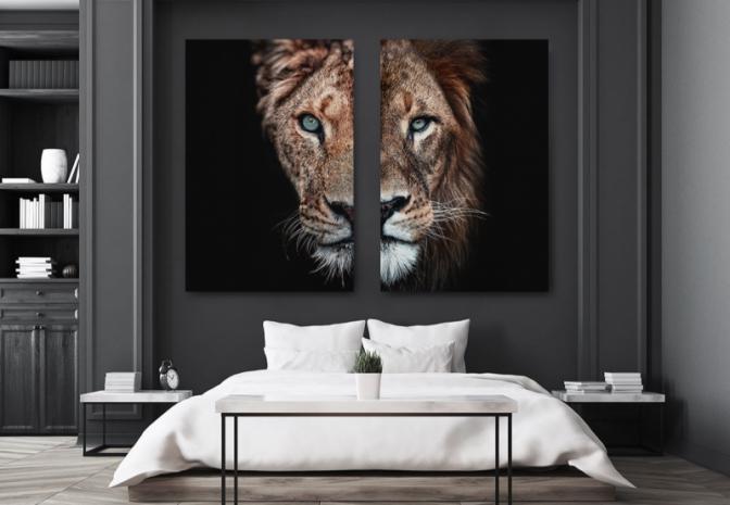 1 - leeuw en leeuwin