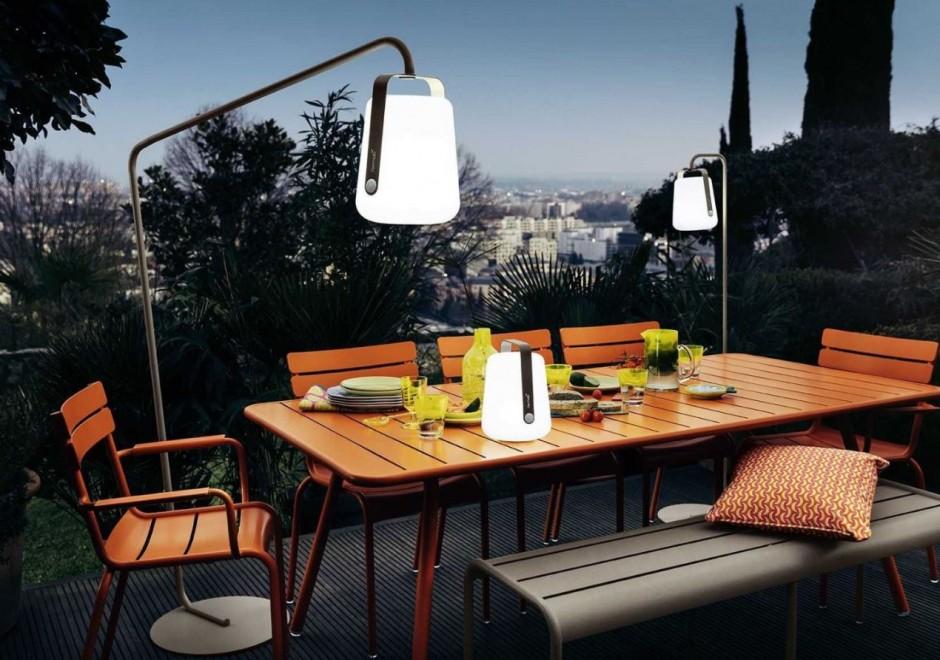 Fermob - Luxembourg tafel oranje