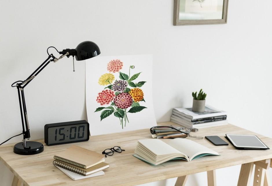 Rechtenvrij - 1 beeld bureau home office