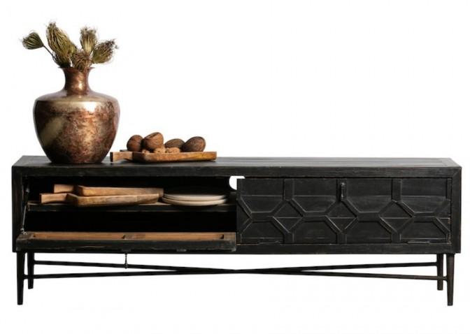 TV meubel GROTEWERF zwart