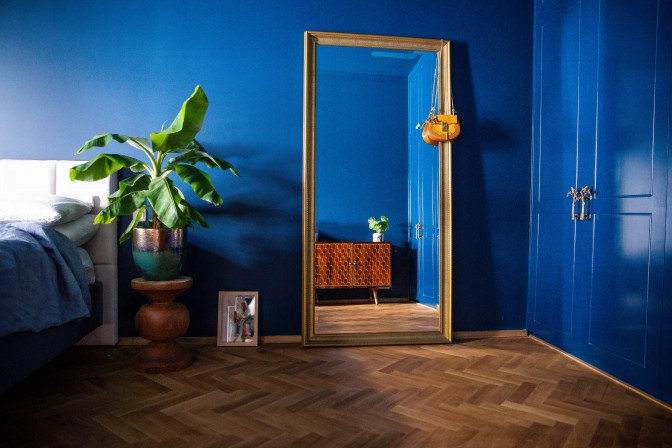 Blauwe slaapkamer - Verno